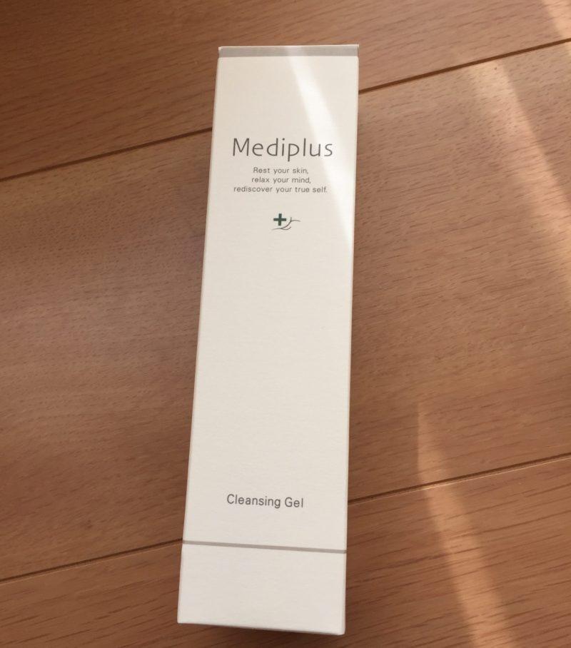 メディプラスクレンジングゲルを購入した時のパッケージ写真